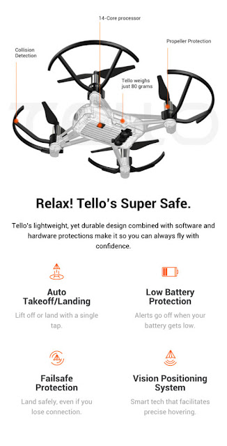Ryze receive got decided to acquire into the lower cost brushless quadcopter marketplace amongst Tello Dji Tello Review - What is the Differences