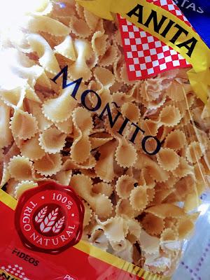 Fideo Moñito. Pastas Anita