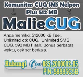 CUG Nelpon 20K + 512MB Flash Data