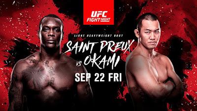 Horário da luta Ovince Saint Preux vs Yushin Okami  UFC 216 - 22/09/2017