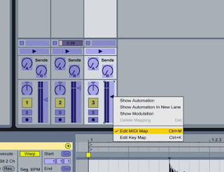 MIDI mapping w Ableton Live, MIDI mapping, Ableton, Mix, w Ableton
