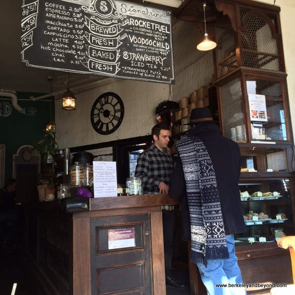 order counter at Sweetleaf Coffee In Long Island City, Queens, NY