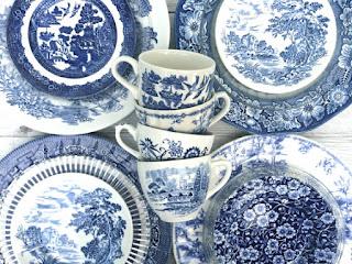 swoon vintage china set