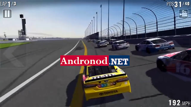 Nascar Heat Mobile Mod Apk+Data (Full Unlimited Money+Infinite Coins)