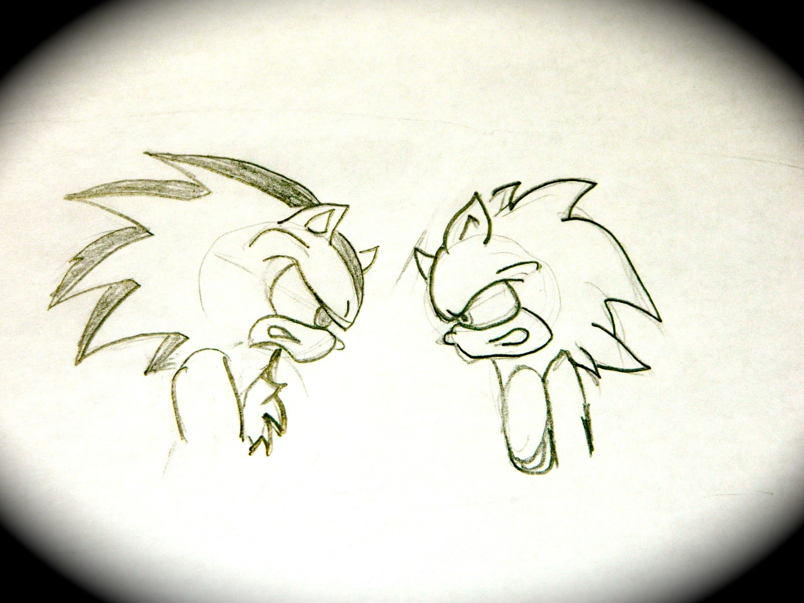 shadow sonic the hedgehog drawing tutorial