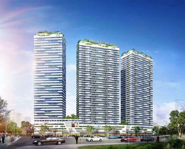 Dự án căn hộ Intracom Riveside Nhật Tân.