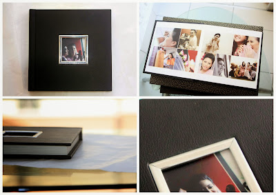 leather custom album,contoh custom album,cover leather,print custom album
