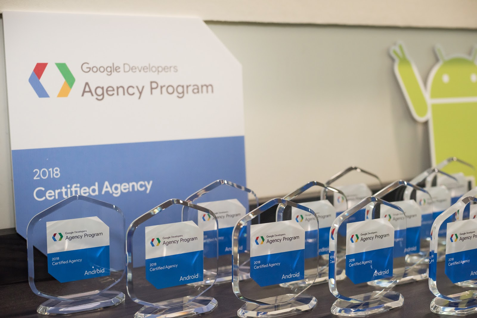 Google Developers Agency Program | Penghargaan