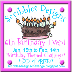 Scribbles Designs 6th Birthday Event