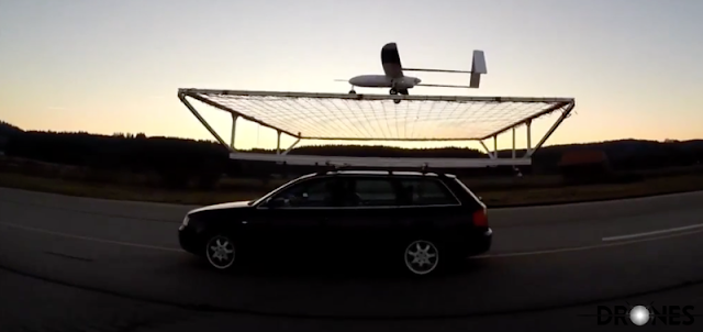 Autonomous Drones will Land on Moving Cars currently