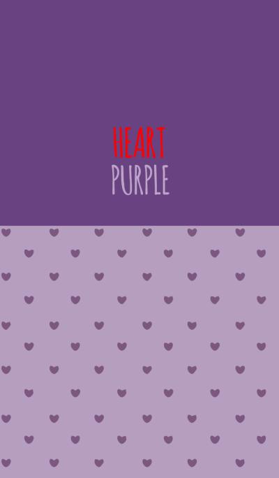PURPLE 5 (HEART)