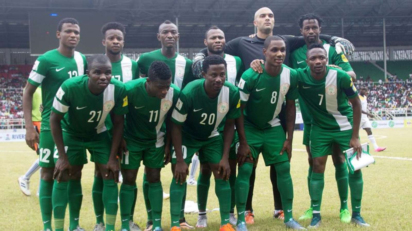 Nigeria defeats Algeria 3-1 wearing