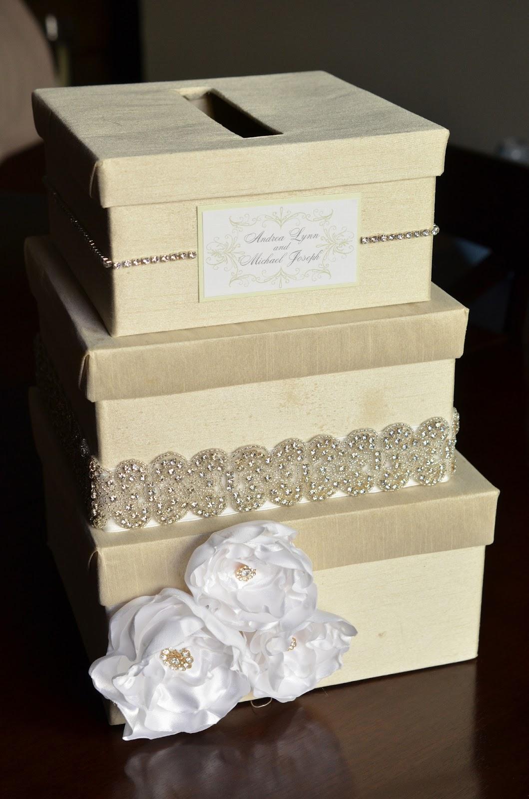 Diy Wedding Gift Card Box: DIY Wedding Card Box Tutorial