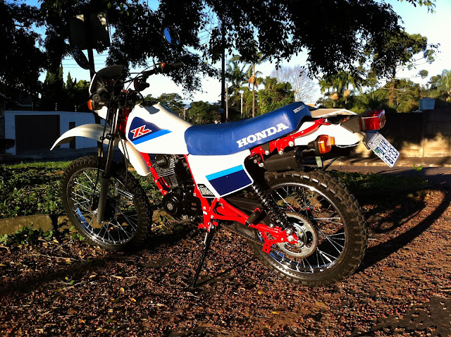 IMG 1329 - Garagem do Colecionador: Honda XL125S - 1987 (Xizelinha)