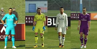 Real Madrid Kits 2016-2017 Pes 2013