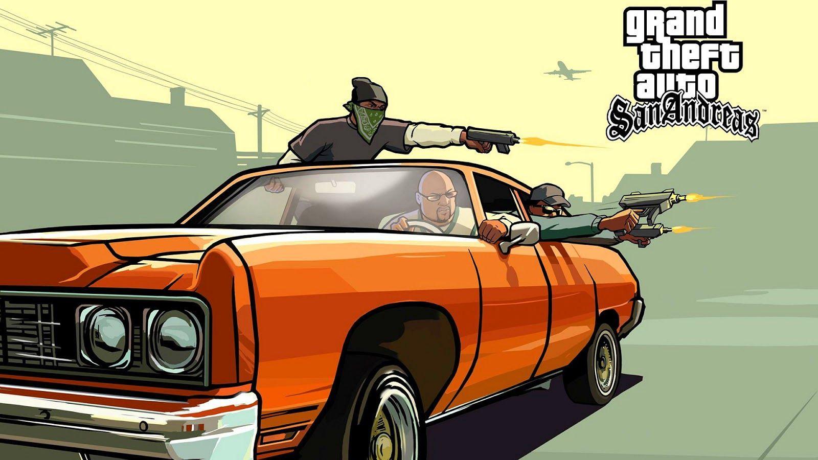 GTA SA Game 144 mb Download Highly Compressed File - Apk +