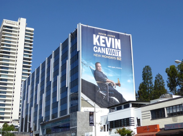 Giant Kevin Can Wait season 1 billboard