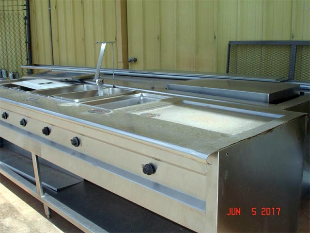 Stainless steel kitchen - Oklahoma equipment auctions