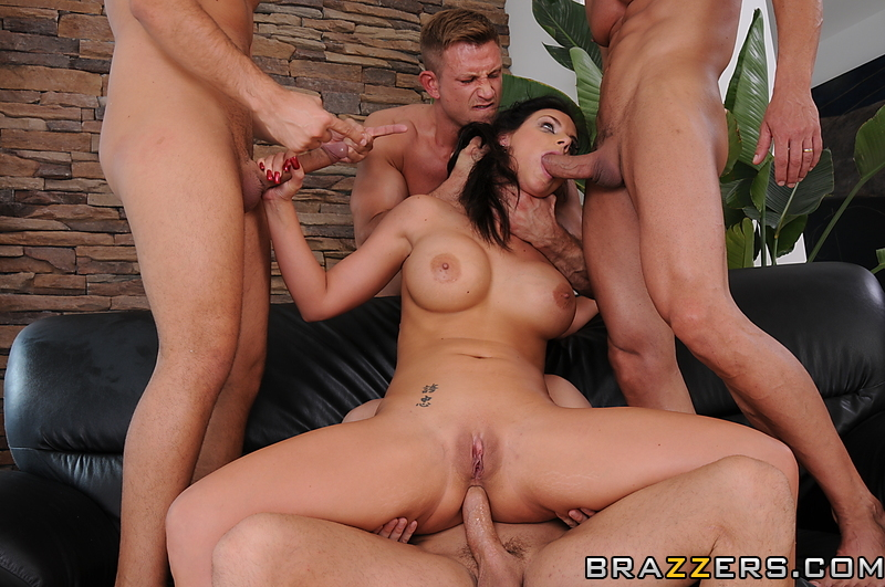 Jamaican gang bang interracial slut wife
