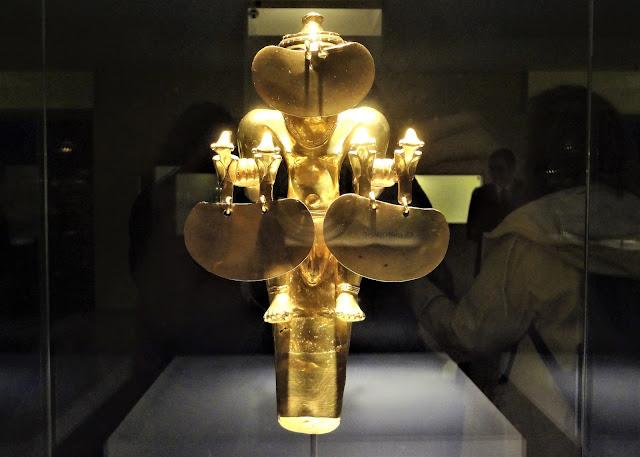 コロンビアの黄金文明時代には女性の族長の存在