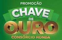 Promoção Chave de Ouro Consórcio Honda