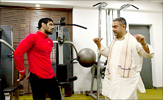 Aamir Khan with Sushil Kumar