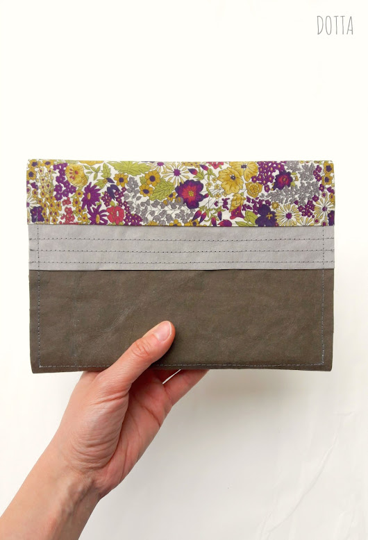 Dotta - A Sewing Blog: Try Something New: SnapPap and Liberty Kindle Cover