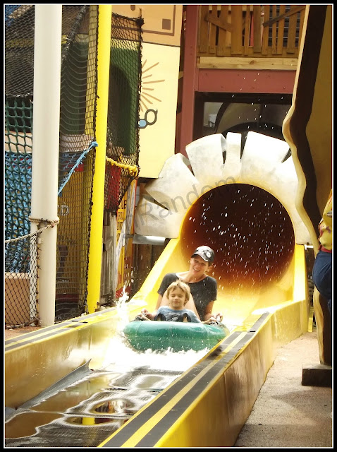 waterslide at Universal Studios