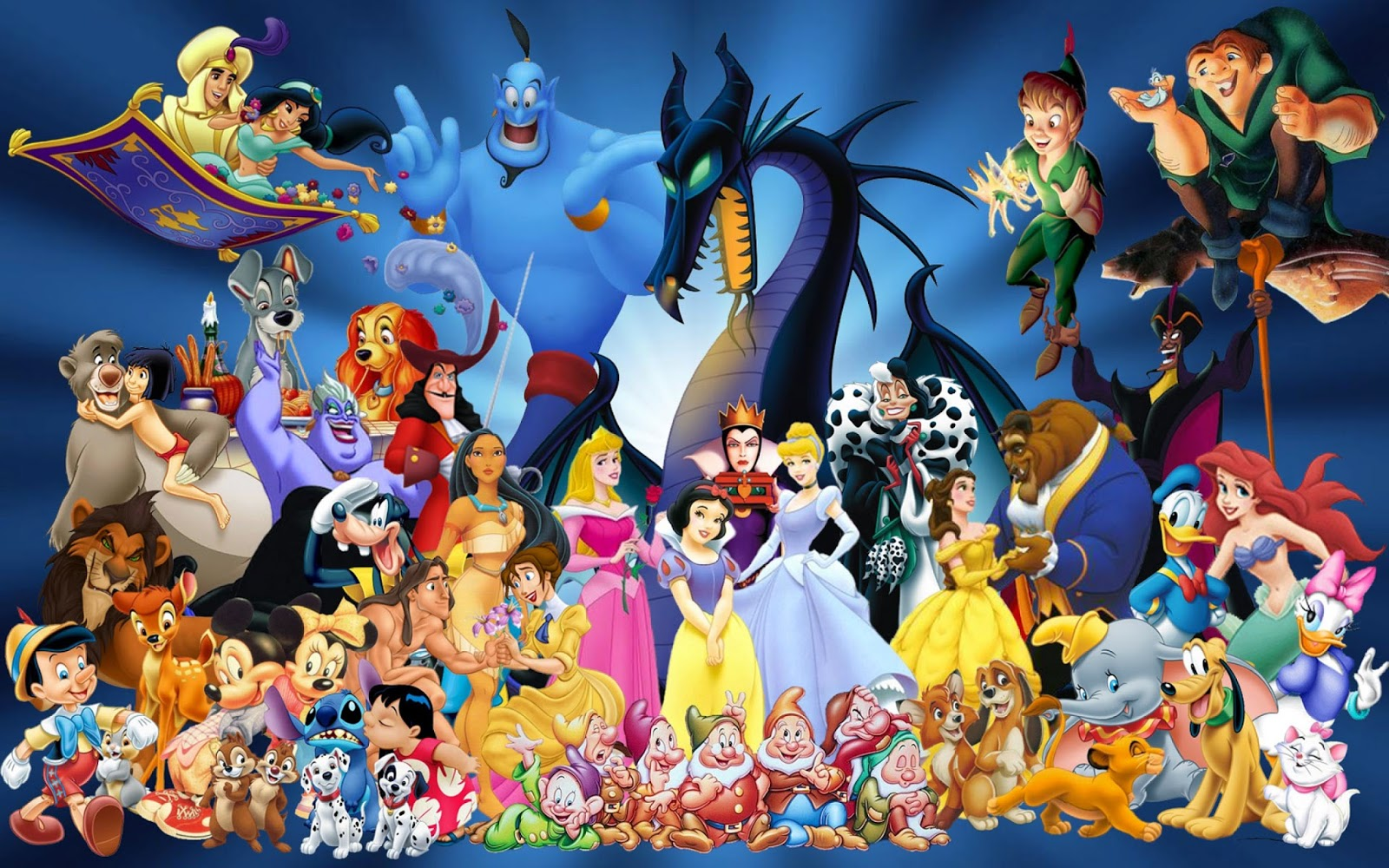 Disney Character Wallpapers -  All Disney Characters