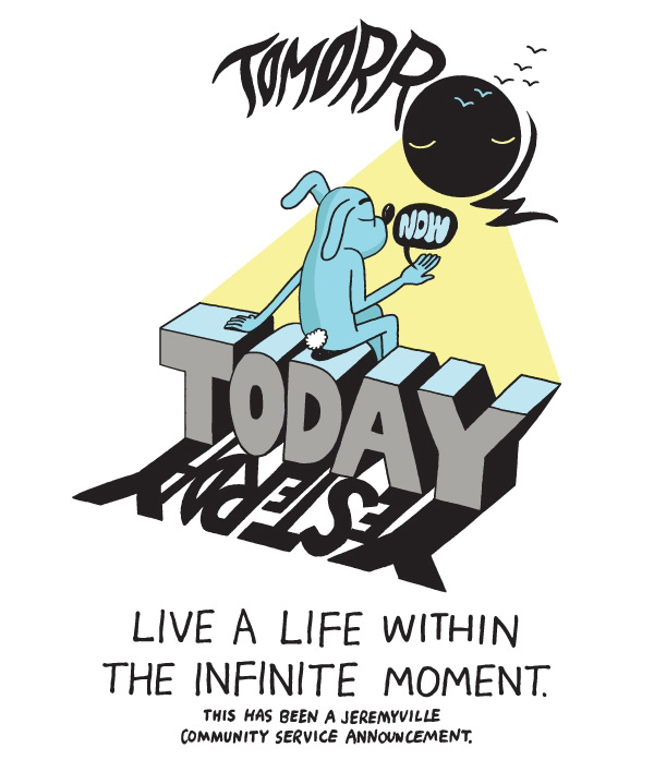 Live A Life Within The Infinite Moment