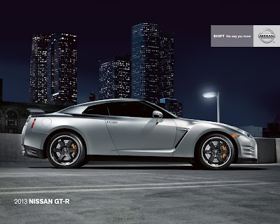 2013 Nissan GT-R Super Silver Black Edition