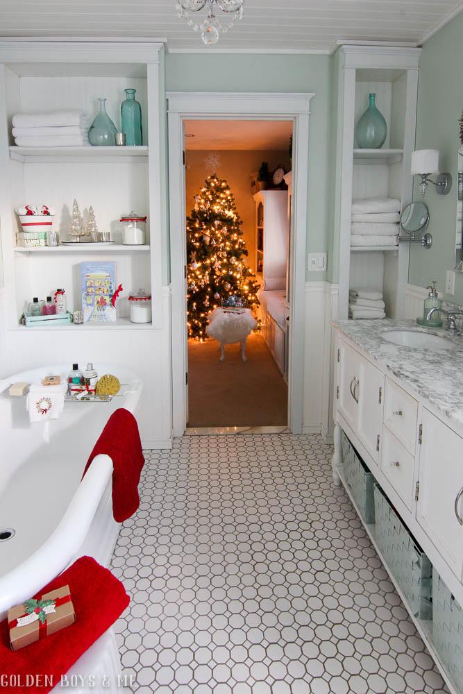 Golden Boys and Me: Christmas Master Bathroom and a Fun ...