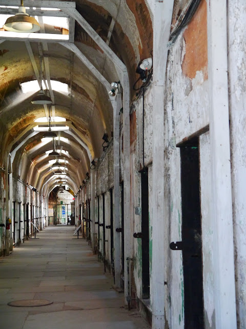 Eastern State Penitentiary prison cells