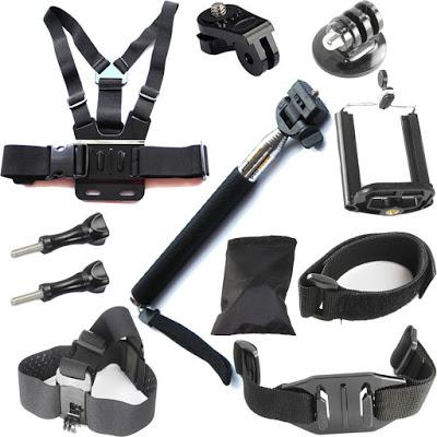 Aksesoris atau perlengkapan pendukung GoPro HERO 5 Black