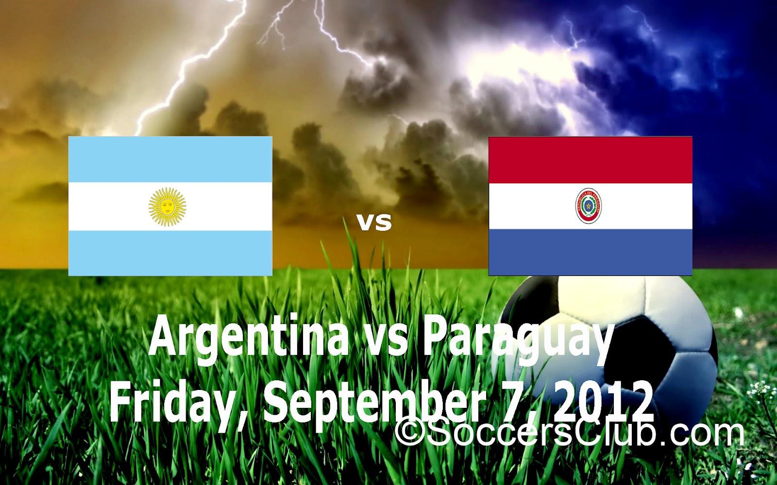 Argentina Vs Paraguay
