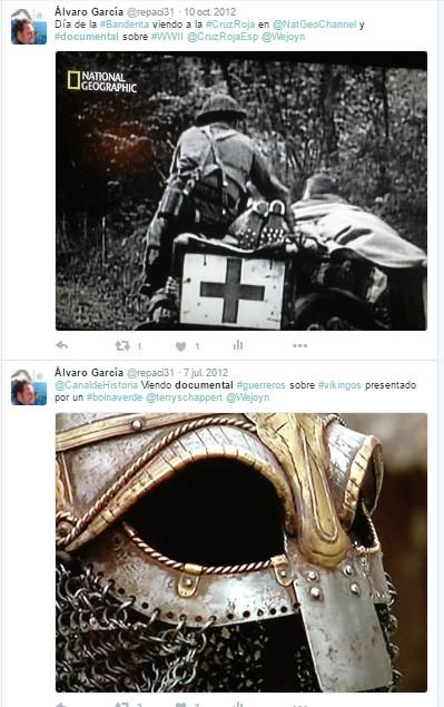 Canal Historia y National Geographic en Twitter - Documentales sobre la Cruz Roja y los Vikingos - Canal Historia - Historia - el troblogdita - ÁlvaroGP
