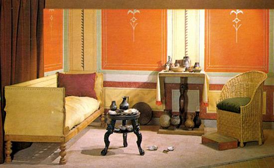 Sedie e sgabelli romanoimpero