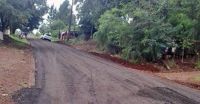 Iretama: Esplanada recebe fresa asfaltica