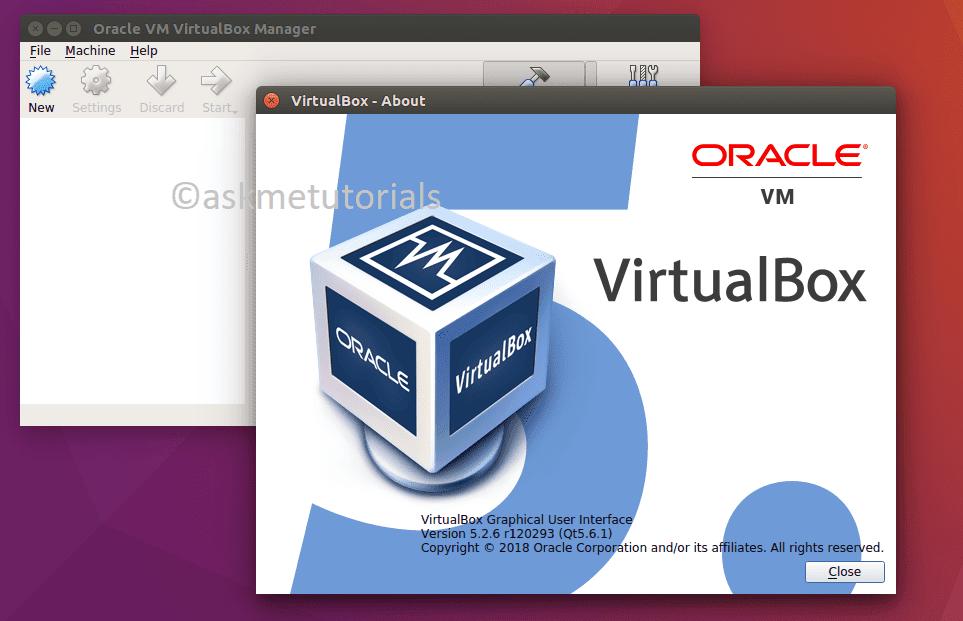 Install Oracle VirtualBox 5 2 6 On Ubuntu 16 04 / LinuxMint