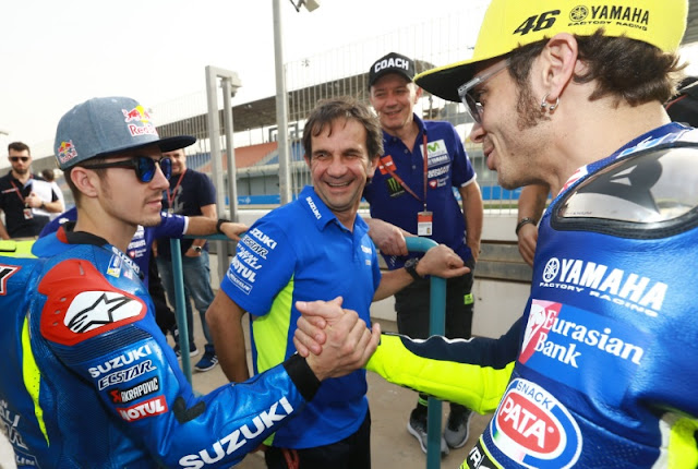 Satu Tim Dengan Rossi, Vinales Akan Bertambah Kuat