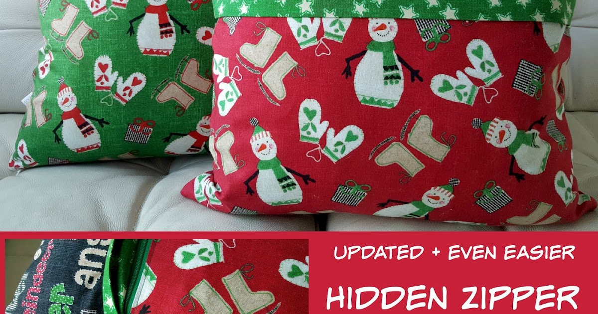 Updated & Even Easier - Hidden Zipper Tute