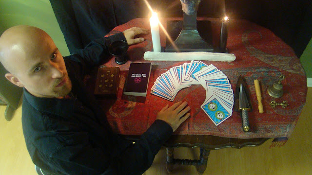 james bridge satanic tarot cards