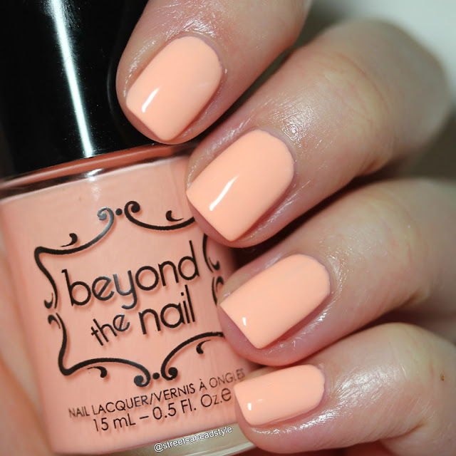 Beyond the Nail Electric Peach