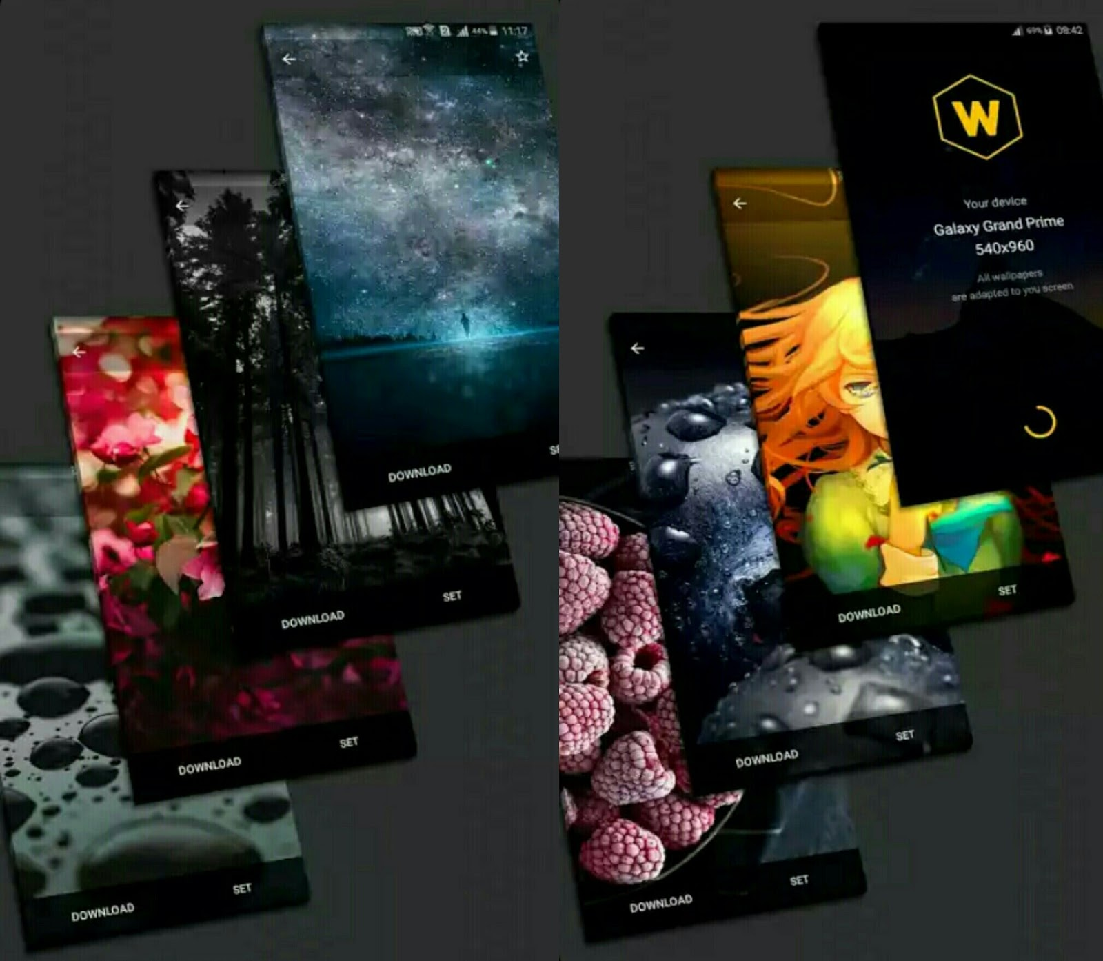 this is an amazing hd wallpaper app you can try bring your screen to life with exclusive hd wallpapers delivered to you by android station team
