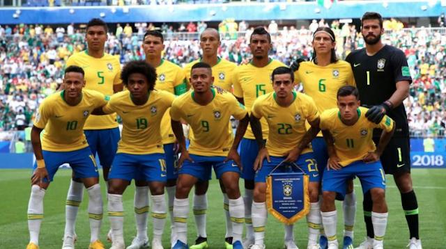 Ban Kapten Brazil Pindah Lagi Dalam Laga Kontra Belgia