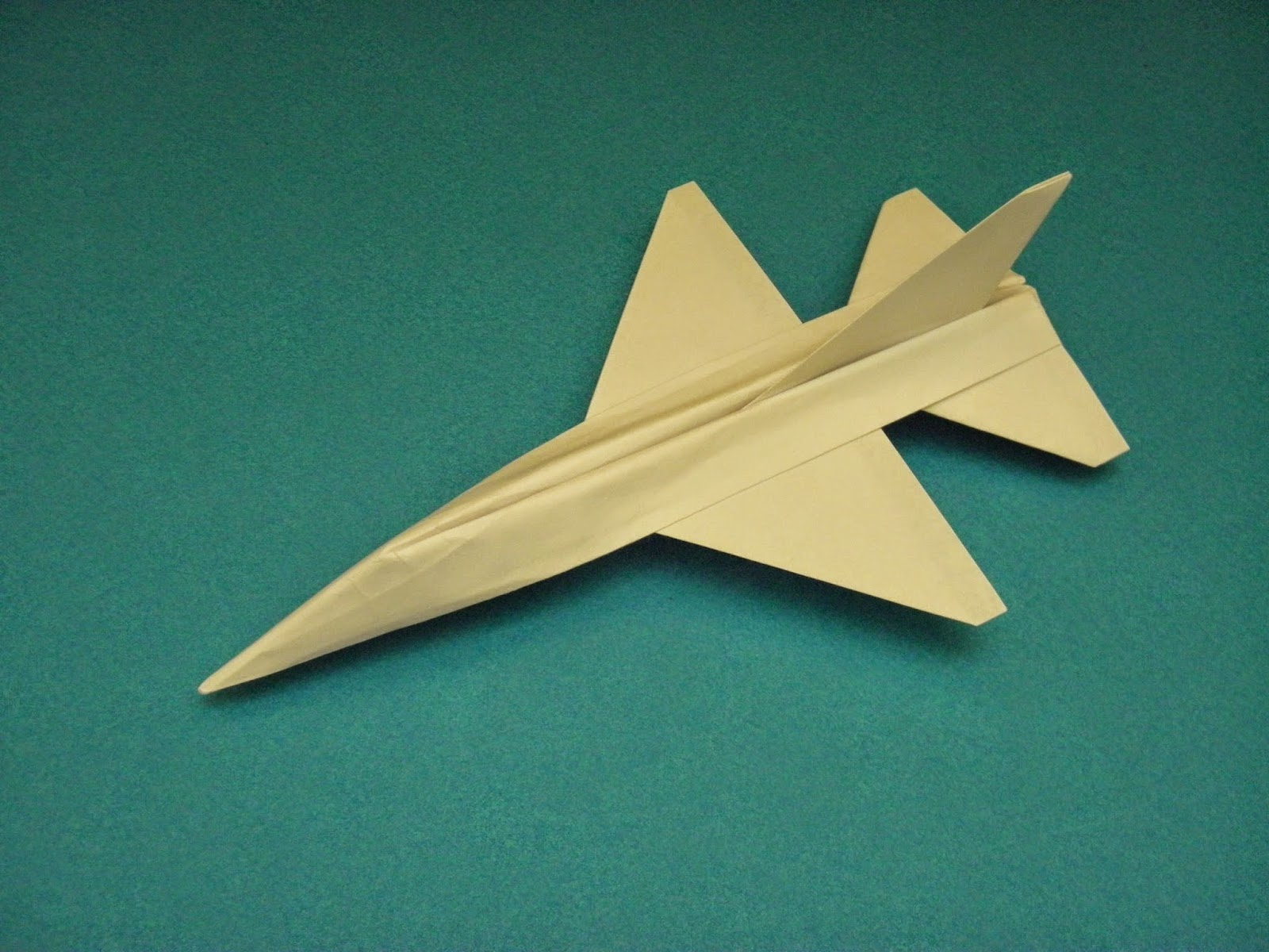 origami plane falcon ~ easy origami instructions for kids ...