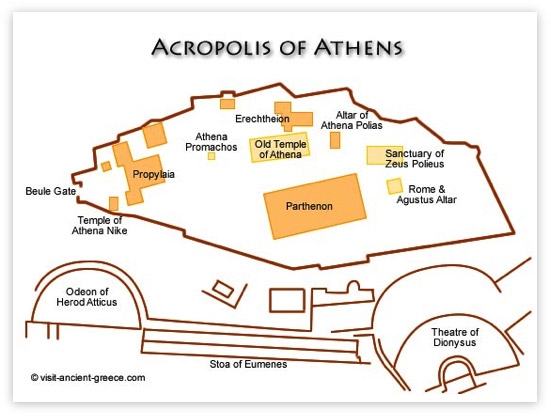 THE GODS: Sites in Athens