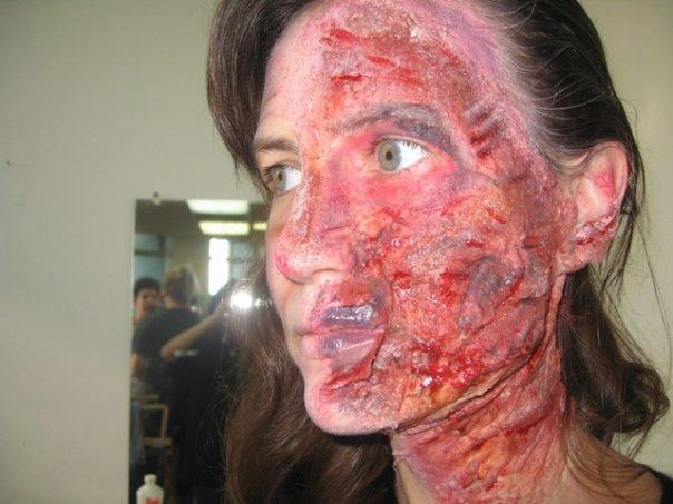 Makeupbyantonio  Burn Victim