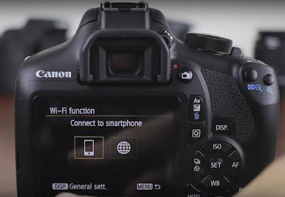 Canon EOS 1300D Wireless Setup