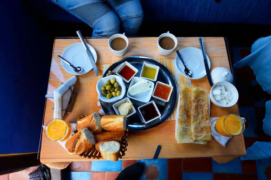 śniadanie marokańskie